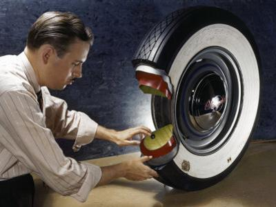Technician Shows How a Second Inner Tube Reinforces Safety in Tires by Willard Culver