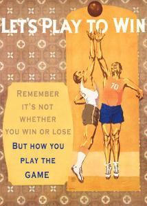 Let's Play to Win by Willard Frederic Elmes