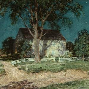 Old Homestead Connecticut, C.1914 by Willard Leroy Metcalf