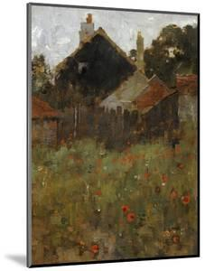 The Poppy Field by Willard Leroy Metcalf