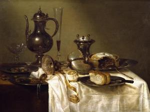 Still Life, 1642 by Willem Claesz Heda