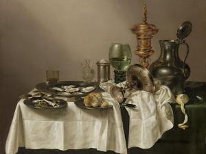 Still Life with a Gilt Cup by Willem Claesz Heda