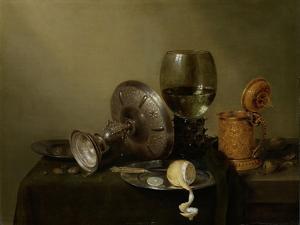 Still Life with Gilt Beer Tankard by Willem Claesz Heda