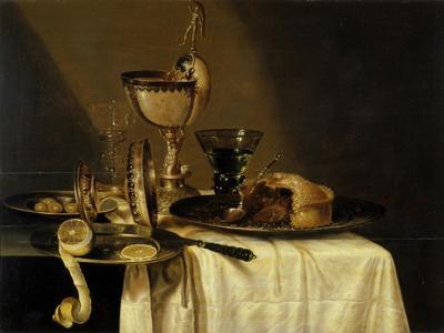 Still Life with Nautilus Goblet, 1642
