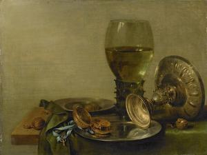 Still Life with Roemer and Silver Tazza by Willem Claesz Heda