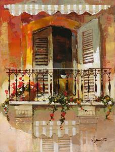 Balcony I by Willem Haenraets