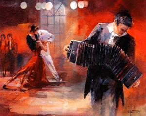 Bandoneon by Willem Haenraets