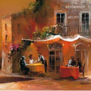 Dinner for Two IV by Willem Haenraets