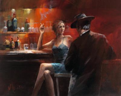 Evening in the Bar II by Willem Haenraets