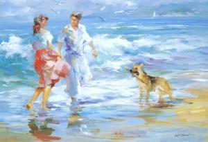 Happy Family 1 by Willem Haenraets
