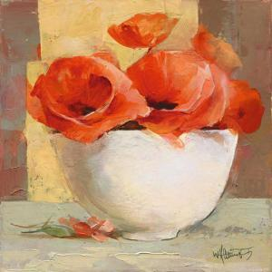 Lovely Poppies I by Willem Haenraets