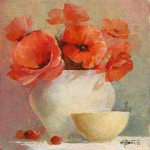Lovely Poppies II by Willem Haenraets
