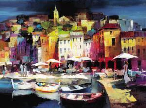 Seaport Town II by Willem Haenraets