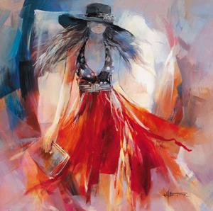 Summerdress I by Willem Haenraets
