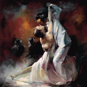 Tango Argentino I by Willem Haenraets