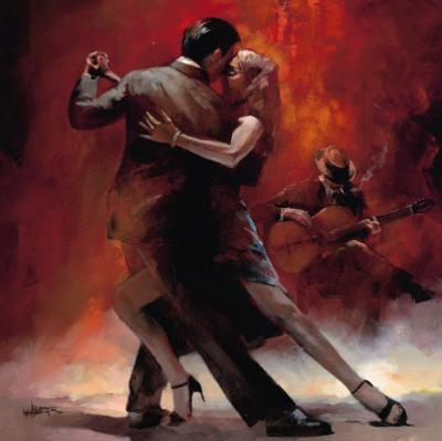 Tango Argentino II by Willem Haenraets