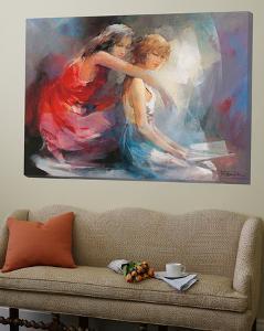 Two Girlfriends II by Willem Haenraets