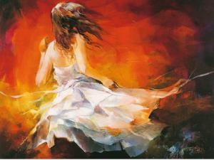 Young Girl II by Willem Haenraets