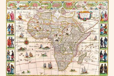 Africa by Willem Janszoon Blaeu