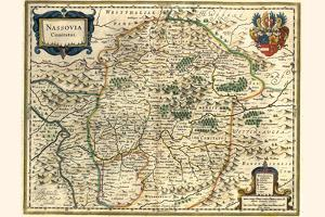 County Of Nassau by Willem Janszoon Blaeu
