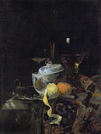 Still Life with Chinese Porcelain Box, 1662