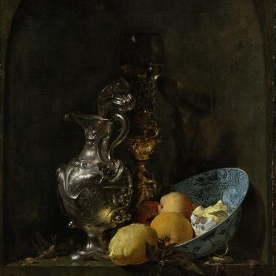 Still Life with Silver Ewer, 1655-60