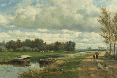 Landscape in the Environs of the Hague, C. 1870-75