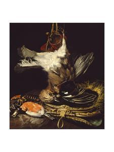 Still Life with a Dead Jay by Willem van Aelst