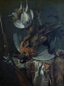 Still Life with Dead Game by Willem van Aelst