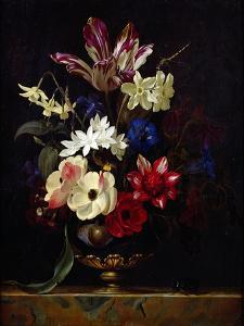 Still Life with Flowers by Willem van Aelst
