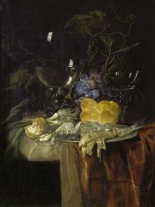 The Breakfast, 1679 by Willem van Aelst