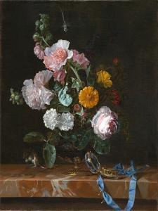 Vanitas Flower Still Life, c.1656-1657 by Willem van Aelst