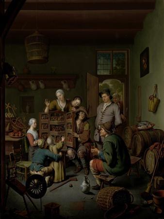 The Raree-show , 1718