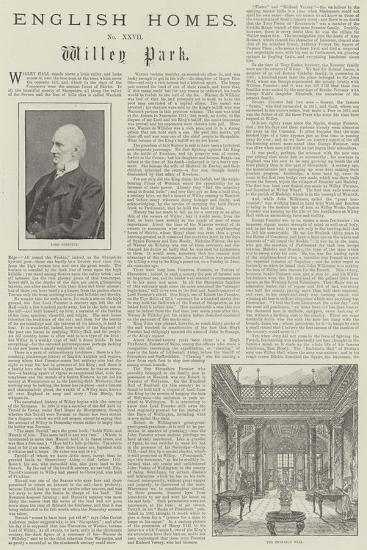 Willey Park-Frank Watkins-Giclee Print