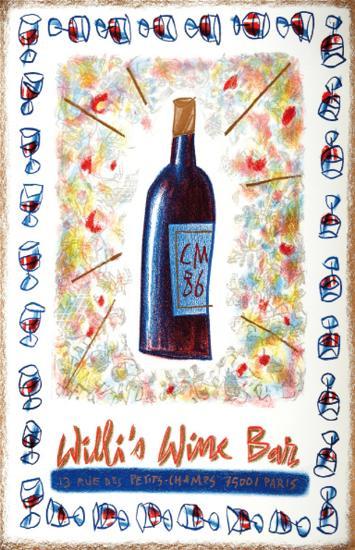 Willi's Wine Bar, 1986-Cathy Millet-Premium Edition