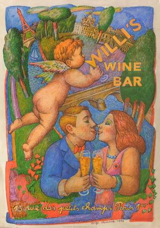 Willi's Wine Bar, 1995-Serge Cl?ment-Premium Edition