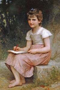 A Calling by William Adolphe Bouguereau