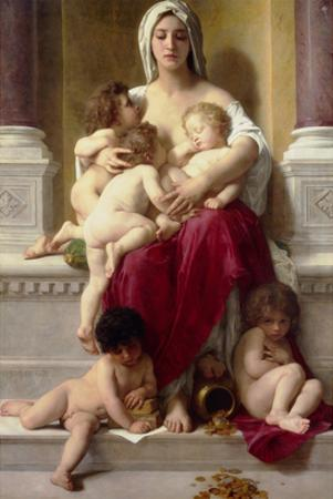 Charity by William Adolphe Bouguereau