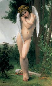 Cupidon, c.1875 by William Adolphe Bouguereau