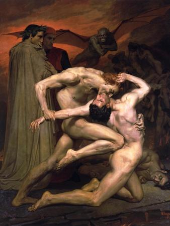 Dante and Virgil in Hell, 1850