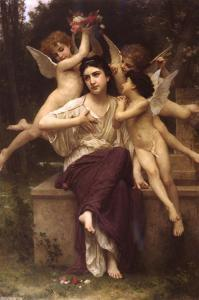Dream of Spring by William Adolphe Bouguereau