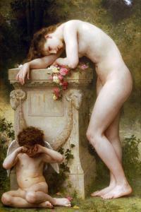 Elegy by William Adolphe Bouguereau