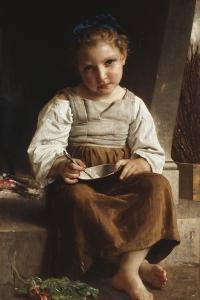 Gruel by William Adolphe Bouguereau