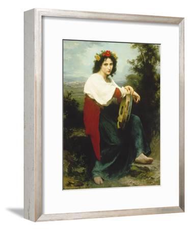 Italian Woman with Tambourine, 1872