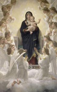La Vierge aux anges by William Adolphe Bouguereau