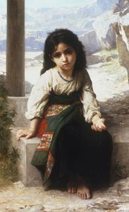 Petite Mendiante, 1880 by William Adolphe Bouguereau
