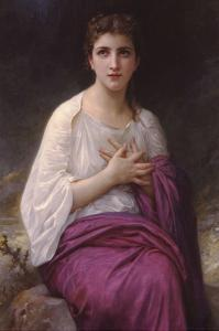 Psyche by William Adolphe Bouguereau