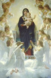 Queen of Angels by William Adolphe Bouguereau