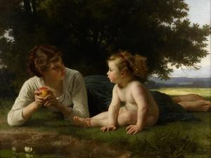 Temptation, 1880 by William-Adolphe Bouguereau