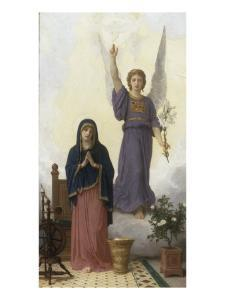 The Annunciation by William Adolphe Bouguereau